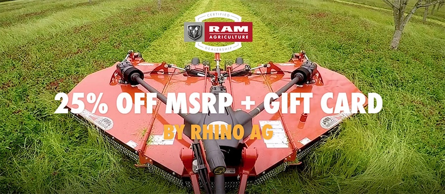 25% OFF RHINO AG Products Plus Gift Card   M&M Auto Group, Inc
