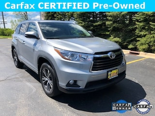 Used 2016 Toyota Highlander XLE V6 SUV DD10799 for sale in Downers Grove, IL at Max Madsen Mitusbishi