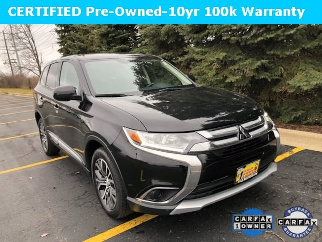 Certified 2018 Mitsubishi Outlander ES SUV for Sale in Downers Grove