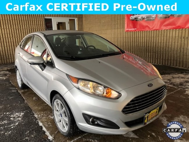 Used 2015 Ford Fiesta SE Sedan for Sale in Downers Grove at Max Madsen Mitsubishi