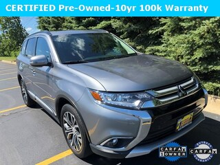 Used 2016 Mitsubishi Outlander SEL SUV DD10552 for sale in Downers Grove, IL at Max Madsen Mitusbishi