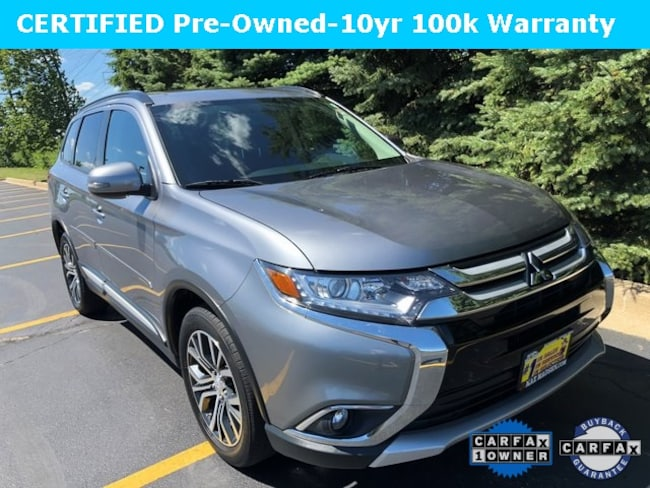 Certified 2016 Mitsubishi Outlander SEL SUV for Sale in Downers Grove