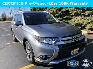 Certified 2016 Mitsubishi Outlander GT SUV JA4JZ4AX5GZ040071 for sale in Downers Grove at Max Madsen Mitsubishi