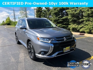 Used 2018 Mitsubishi Outlander Phev SEL SUV PD10804 for sale in Downers Grove, IL at Max Madsen Mitusbishi