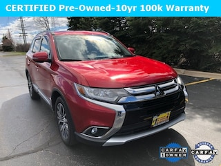 Certified 2016 Mitsubishi Outlander SEL SUV JA4AZ3A35GZ034262 for sale in Downers Grove at Max Madsen Mitsubishi