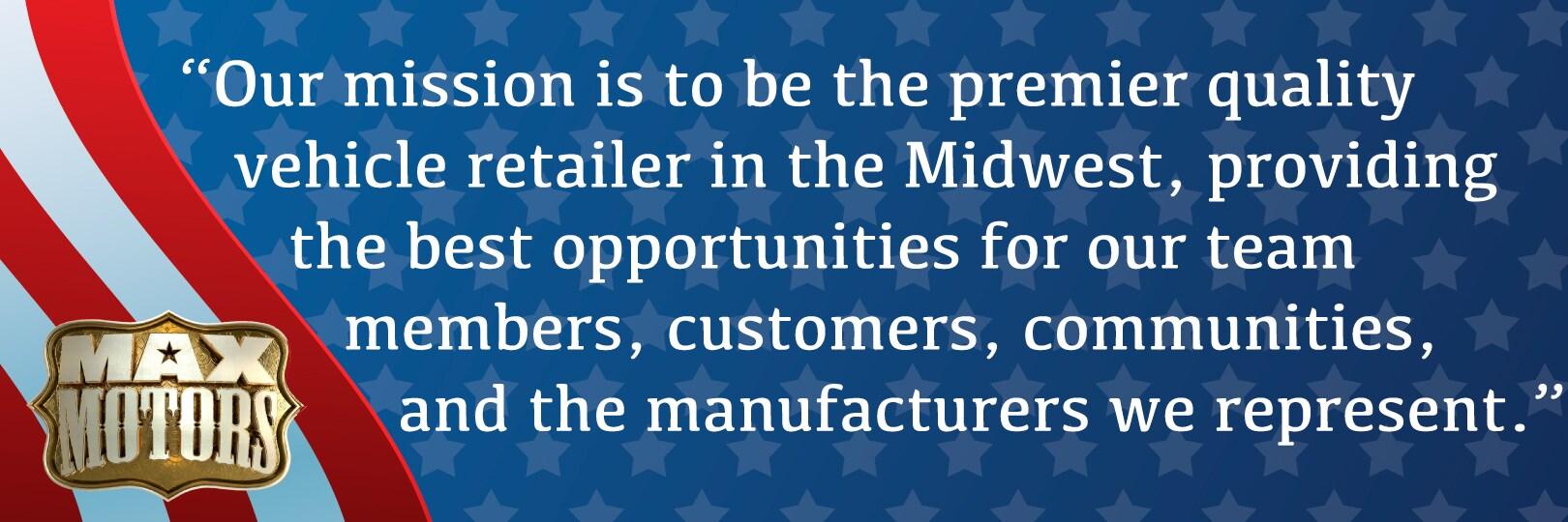 Max Motors Butler Mo >> About Max Motors Max Motors Dealerships