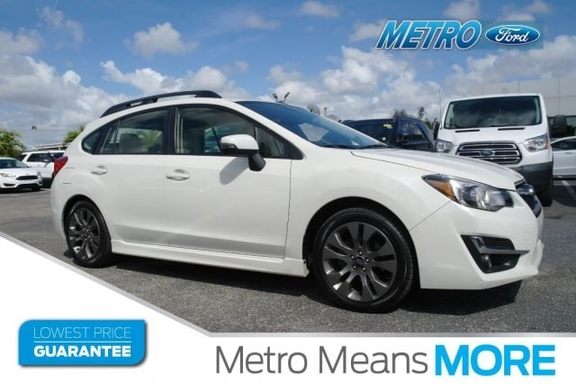 2015 Subaru Impreza 2.0i Sport Limited Sedan