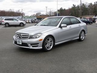 Used 2013 Mercedes-Benz C-Class C 300 4MATIC Sedan For Sale in Abington, MA