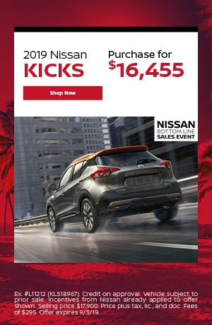 2019 Nissan Kicks - August Offer