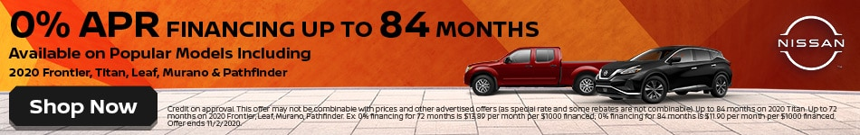 0% APR on Popular Models