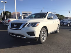 New 2020 Nissan Pathfinder S SUV 5N1DR2AN2LC649035 M12318 near Waipahu
