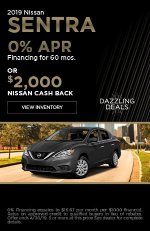 New 2019 Nissan Sentra - April