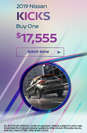 2019 Nissan Kicks - January Offer