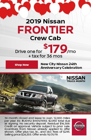 2019 Nissan Frontier - October Offer
