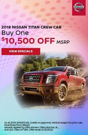 2019 Nissan Titan - March Offer