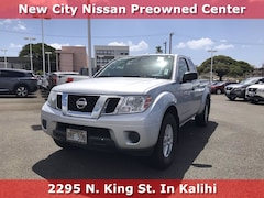 Certified Pre-Owned 2018 Nissan Frontier SV King Cab 4x2 SV Auto for sale near Ewa Beach