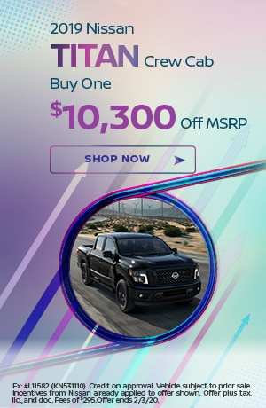 2019 Nissan Titan - January Offer
