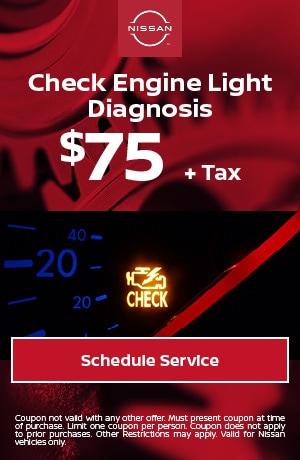 Check Engine Light Diagnosis