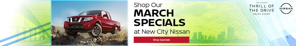 Shop Our March Specials- March Offer