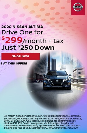 2020 Nissan Altima - March Offer