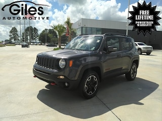 used 2016 Jeep Renegade Trailhawk 4x4 SUV in Lafayette