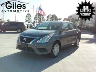 used 2017 Nissan Versa 1.6 S Sedan in Lafayette