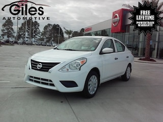 new 2019 Nissan Versa 1.6 S Sedan in Lafayette