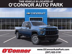 2021 Chevrolet Silverado 2500 HD Custom Truck Crew Cab For Sale in Auburn, ME
