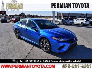 Used 2018 Toyota Camry SE Sedan For Sale in Hobbs, NM