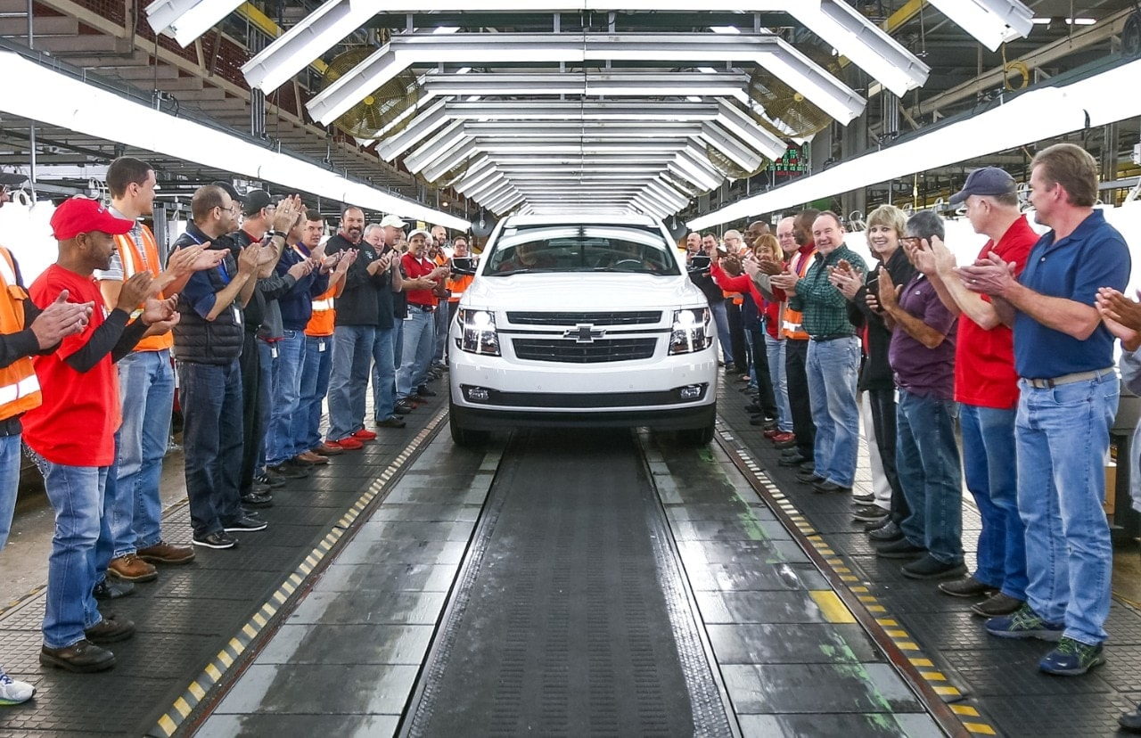 Phillips Chevrolet Chevy Tahoe Makes Manufacturing History - Phillips chevy car show