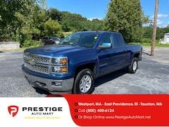 2015 Chevrolet Silverado 1500 4WD Double Cab 143.5 LT w/1LT Extended Cab Pickup For Sale in Westport, MA