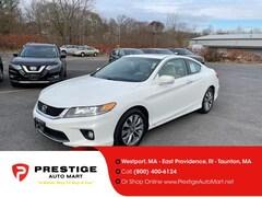 2013 Honda Accord 2dr I4 Auto EX-L Car For Sale in Westport, MA