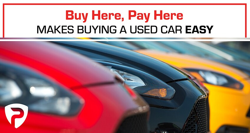 Buy Here Pay Here Makes Buying a Used Car Easy