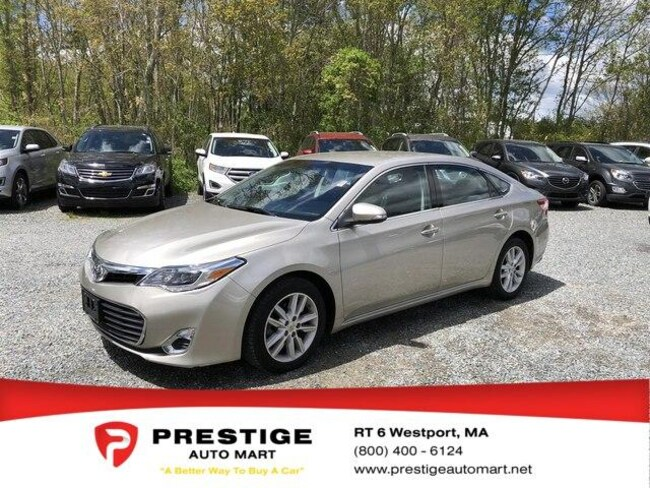 2013 Toyota Avalon For Sale >> Used 2013 Toyota Avalon For Sale Westport Near Fall River Ma New Bedford Ma And Dartmouth Ma