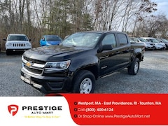 2017 Chevrolet Colorado 4WD Crew Cab 128.3 WT Crew Cab Pickup For Sale in Westport, MA