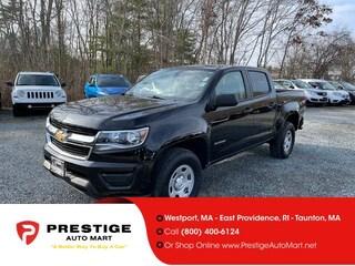 2017 Chevrolet Colorado 4WD Crew Cab 128.3 WT Crew Cab Pickup For Sale in Westport, MA