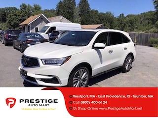 2017 Acura MDX SH-AWD w/Technology Pkg Sport Utility For Sale in Westport, MA