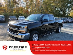 2018 Chevrolet Silverado 1500 4WD Double Cab 143.5 LT w/1LT Extended Cab Pickup For Sale in Westport, MA