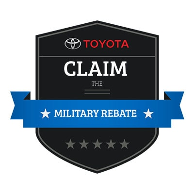 How Do I Claim the Toyota Military Rebate?