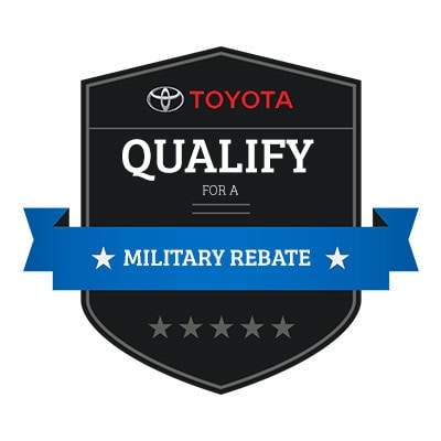 How Do I Qualify for a Toyota Military Rebate?