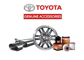 Toyota Accessories at Puente Hills Toyota
