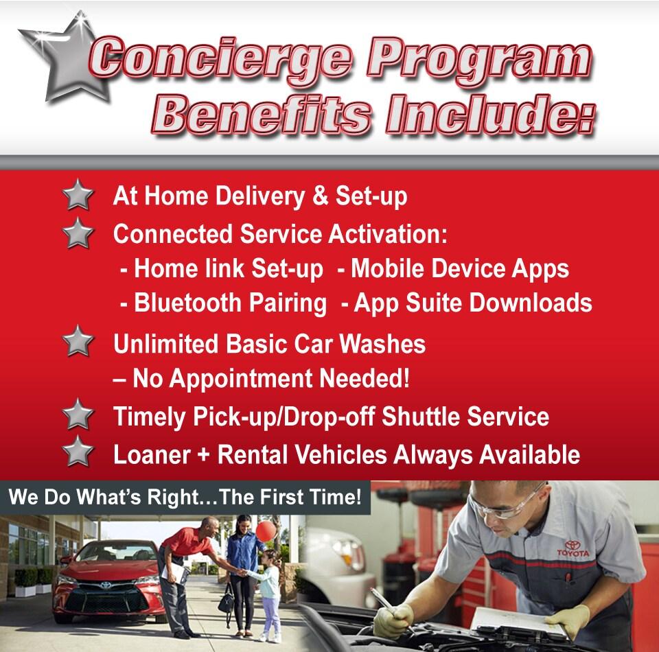 Elite Concierge Program | Racine Toyota on elite home care, senior home services, express home services,