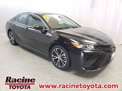 certified pre-owned 2019 Toyota Camry SE Sedan in Mount Pleasant WI