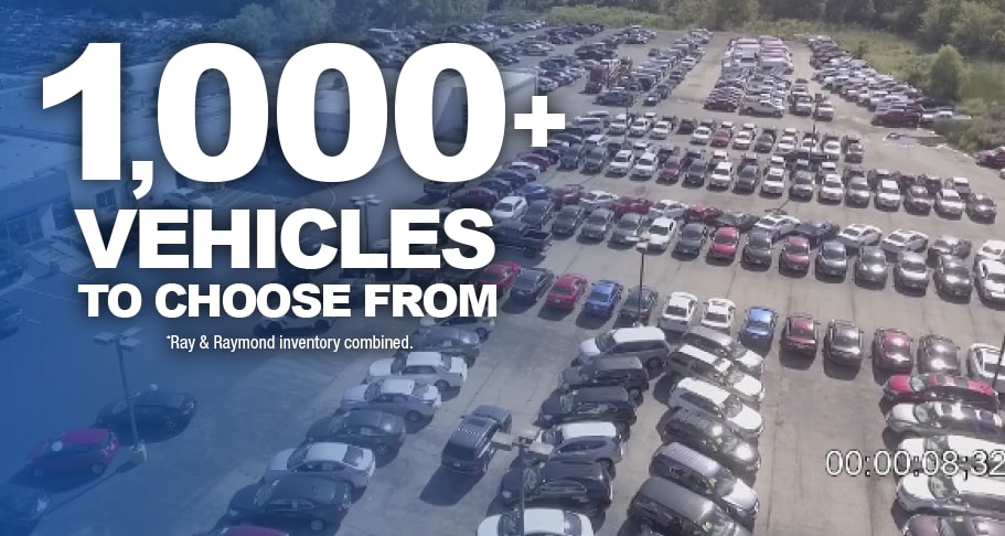 1000+ vehicles