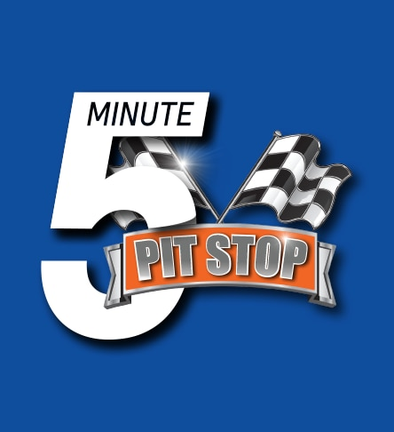 5 minute pit stop