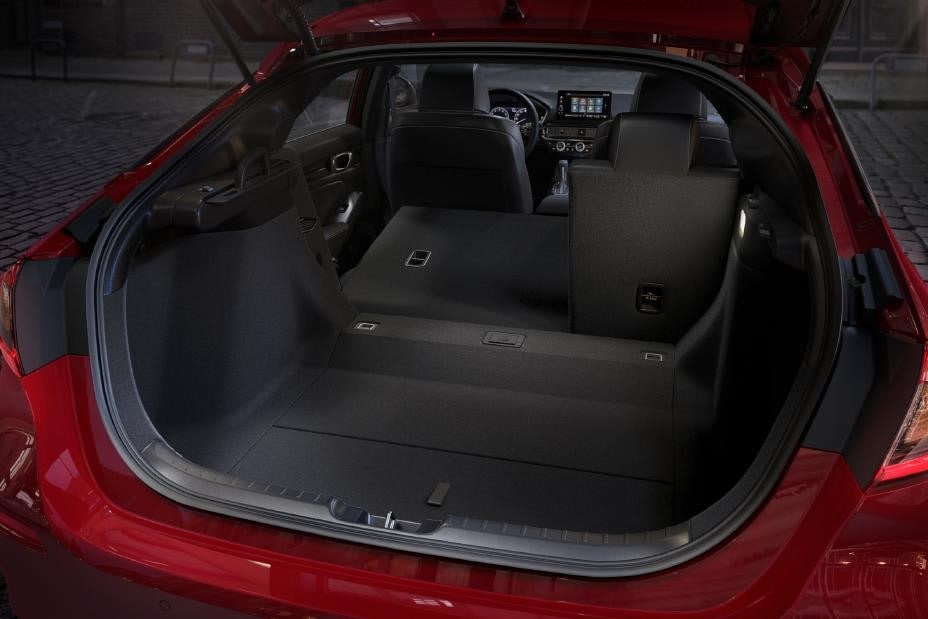 All-New 2022 Honda Civic Trunk Space