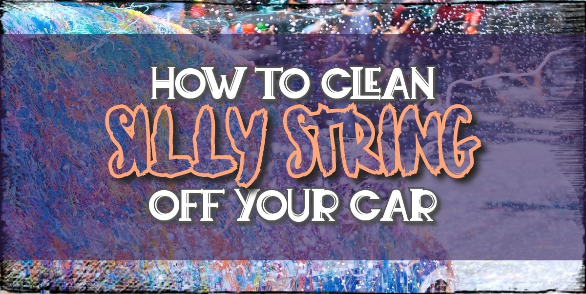 How to clean silly string