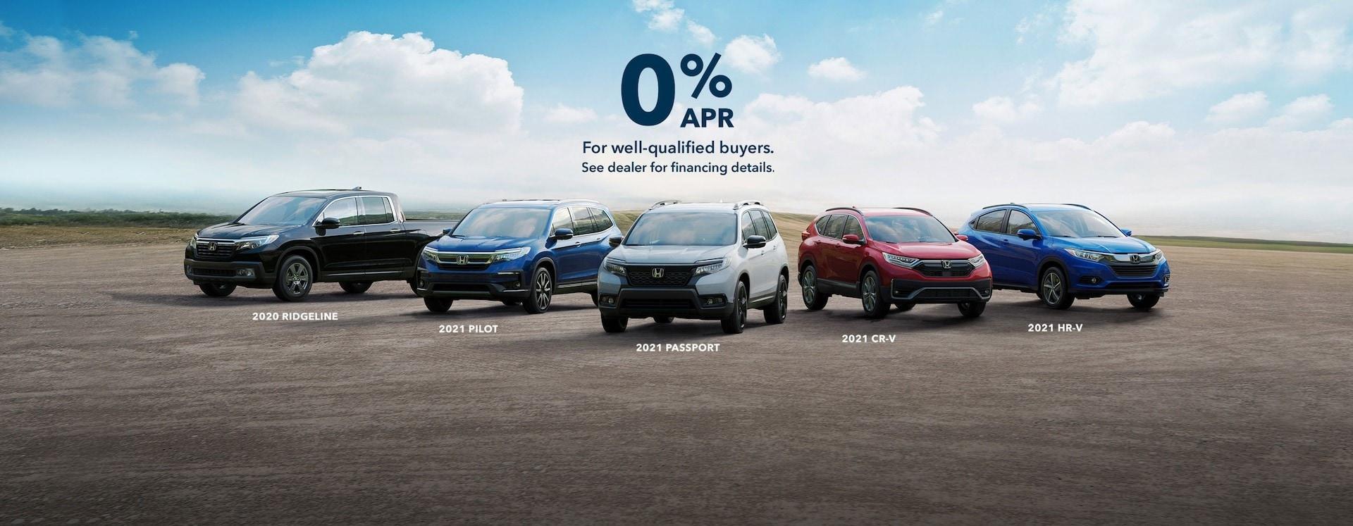 0% Financing at Roper Honda
