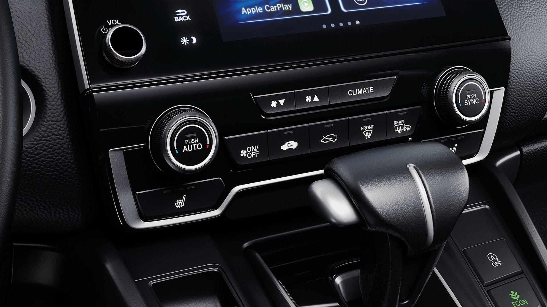 Honda CR-V Dual-Zone Automatic Climate Control