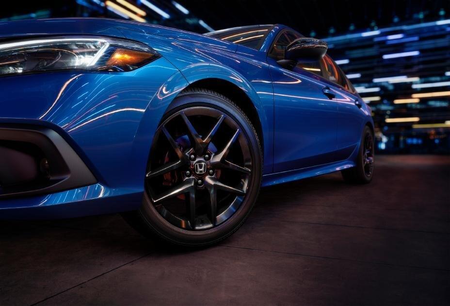 All-New Blue 2022 Honda Civic